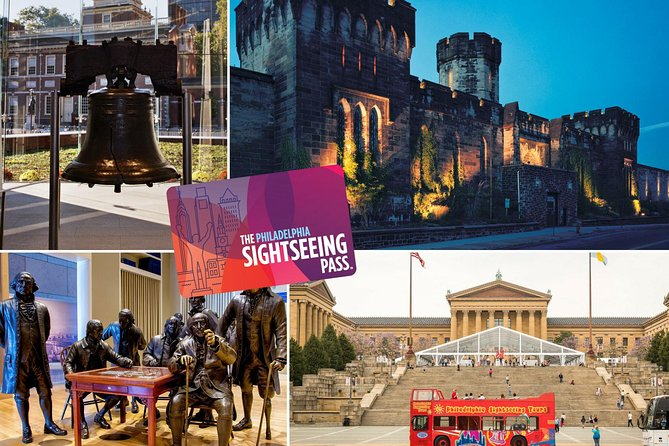 The Philadelphia Sightseeing Flex Pass: Save on 35+ Landmark Attractions & Tours