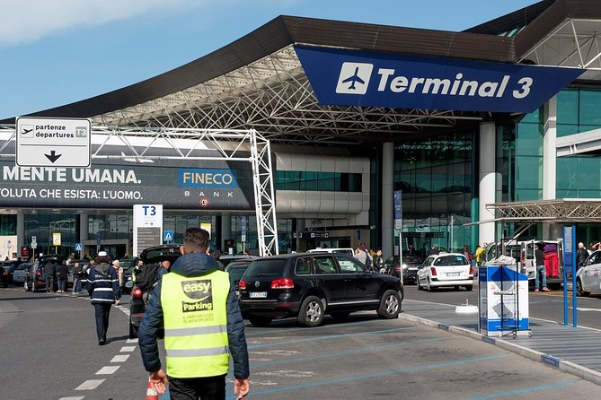Transfer to Fiumicino Airport from Rome