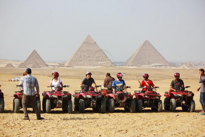 Giza Pyramids Quad Bike Desert Safari