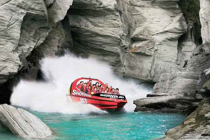 Shotover River Extreme Jet Boat Ride from Queenstown