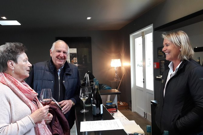 All questions welcomed by the wineries' tasting experts