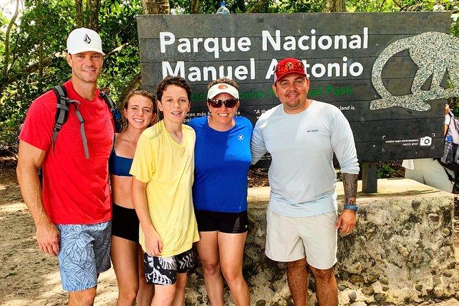 Manuel Antonio Private tour experience