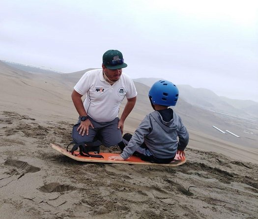 Adventure in Chilca: all terrain and sand sliders