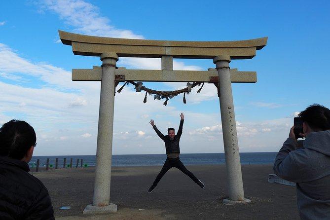Rural Japan cycling tour to the seaside in Ichinomiya