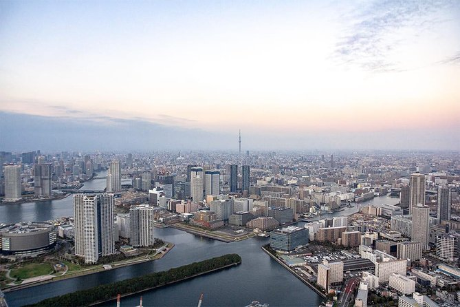 [10 Minutes] Tokyo Tour: Tokyo Introductory Helicopter Flight