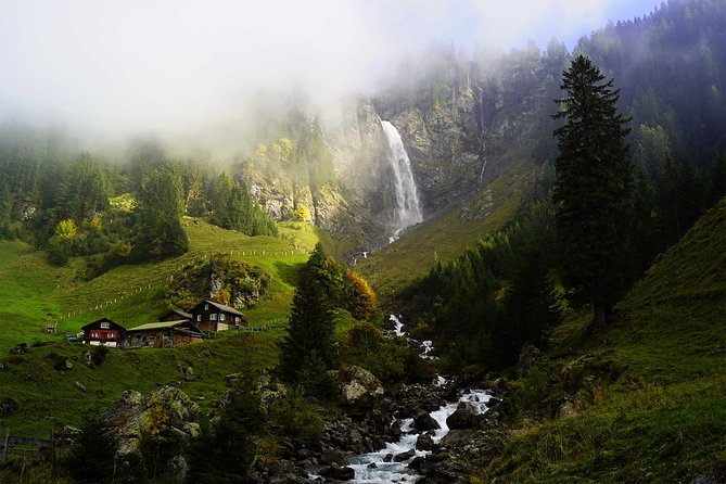 The natural wonders of Switzerland: private tour from Basel (1 day)