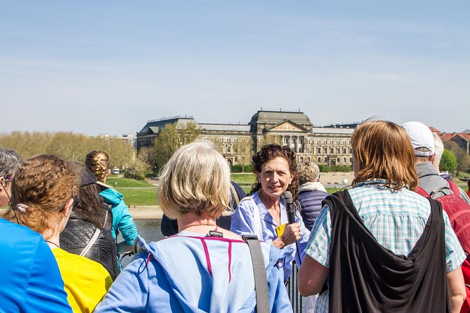 City tour and castle tour with green vaults, parade rooms and much more