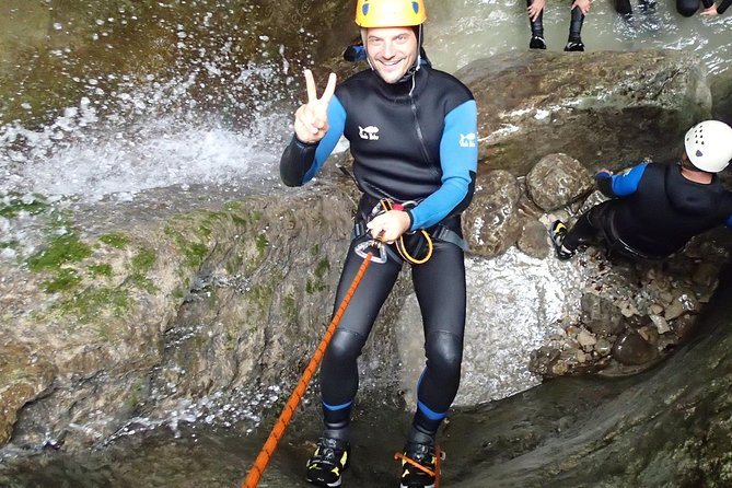 Bled canyoning