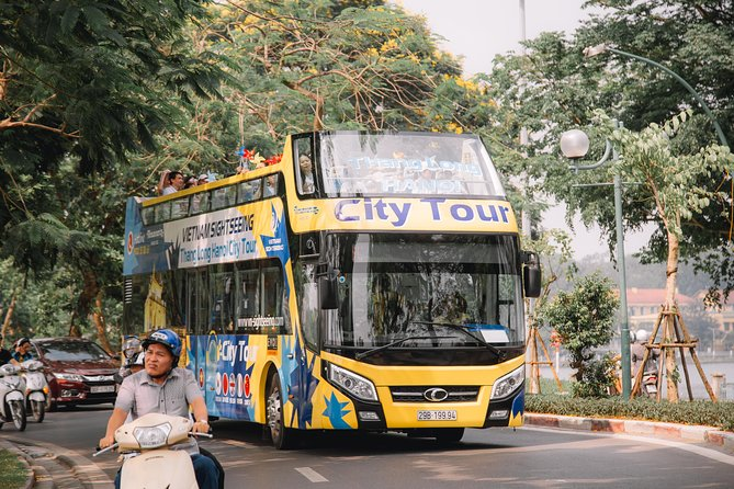 Hanoi Hop-On Hop-Off Bus: 24-Hour Sightseeing Tour Pass photo 1