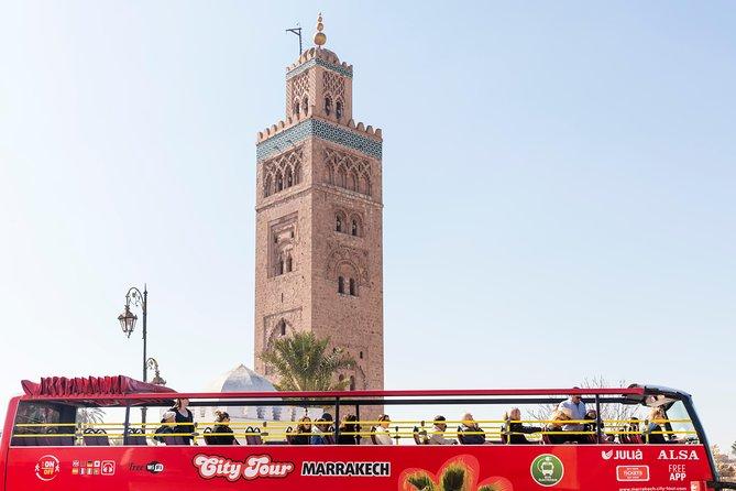 Marrakech City Tour Hop On - Hop Off + ATV Around the Palm Grove