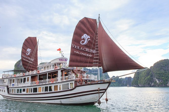 Halong Bay 2 days 1 night on Viola Cruise