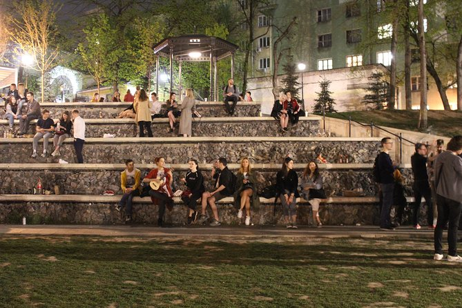 Night walk through Moscow photo 12