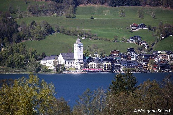 Panoramic Salzburg City Tour plus Austrian Lakes and Mountains Sightseeing Tour