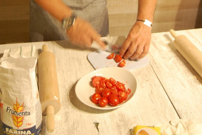 Cooking class and walk to Calcata
