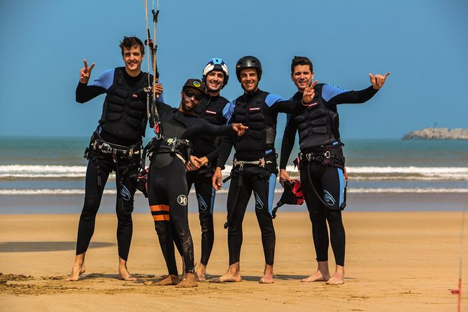 kitesurf lesson with local