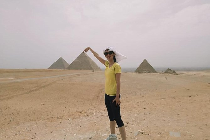 Giza pyramids sphinx and light show from Cairo Giza hotel with expert guide photo 3