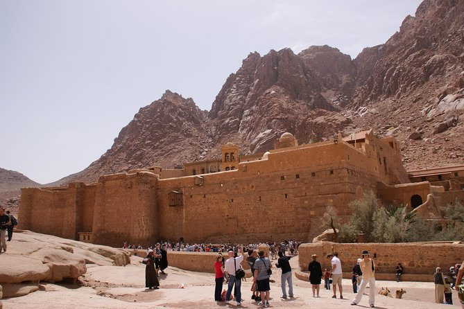 St. Catherine Monastery and Dahab With Lunch from Sharm el Sheikh