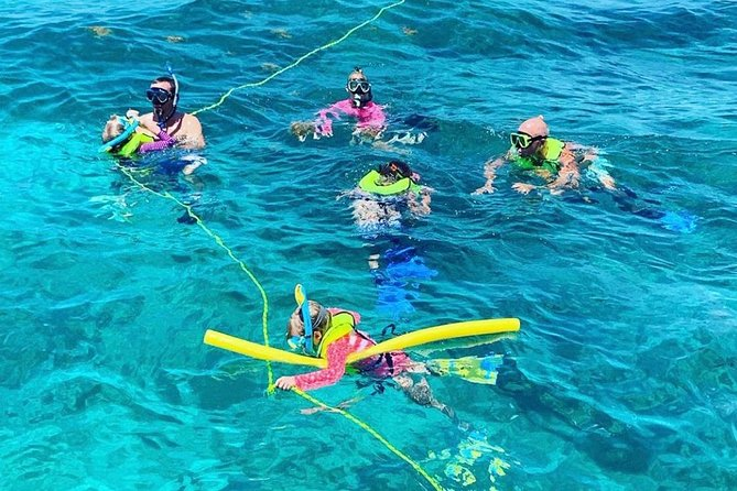Group Snorkeling at Coffin's Patch Reef from Duck Key