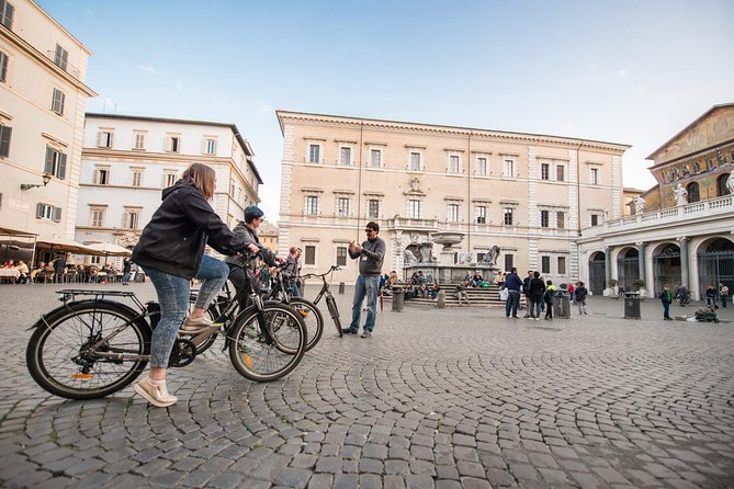 Rome - Electric Bicycle Small Group Tour of the Eternal City