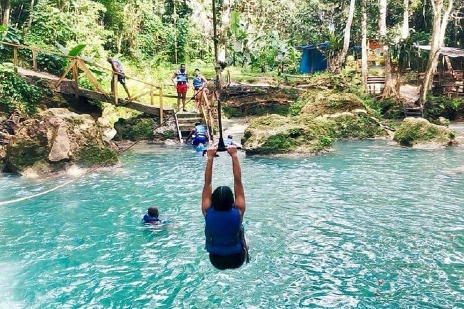 Ultimate Adrenaline Adventure (Blue Hole, Zip, Tube & Buggy) from Ocho Rios