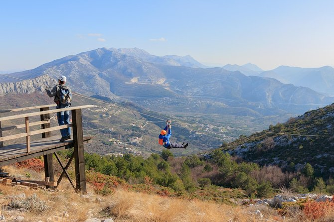 Zipline Experience from Split