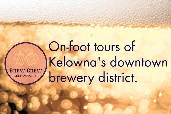 Walking Tour of Kelowna Downtown Breweries