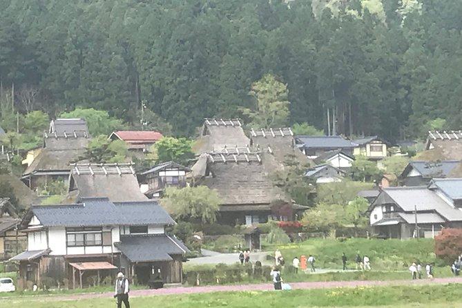 "Thatched roof ""Miyama"", Keihoku ""Josho Prince"", Hiyoshi Dam"