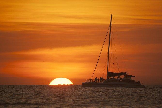 Marlin del Rey Catamaran Snorkel Sunset Cruise from Tamarindo & Coco