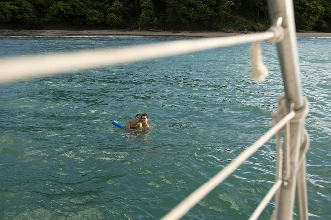 Marlin del Rey Catamaran Snorkel Sunset Cruise from Tamarindo
