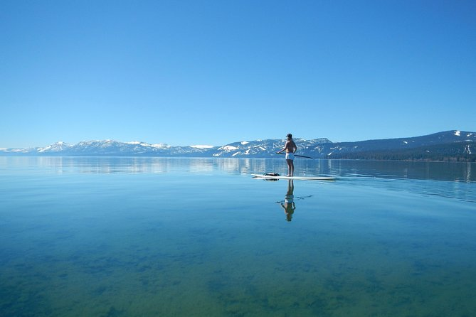 1-Hour Stand Up Paddleboard Lesson on Lake Tahoe