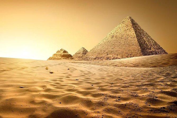 Cairo - overnight - excursion (hotel, pyramids, museum) - Hurghada German