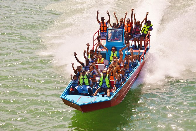 Suva Shore Excursion: Jet Boat thrill, Waterfall Trek, Culture & Lunch