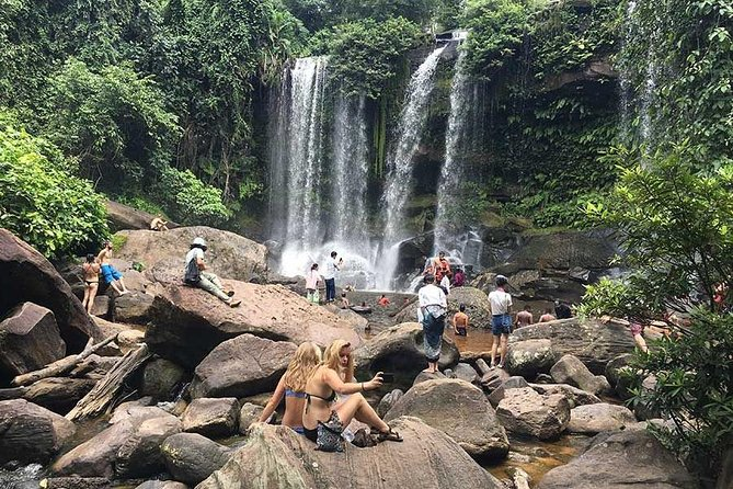 Explore 1000 Lingas Carving & Waterfall Phnom Kulen Private Experience