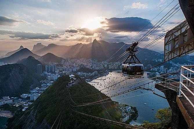 Christ Statue + Sugar Loaf + Tijuca Forest + Historic Downtown