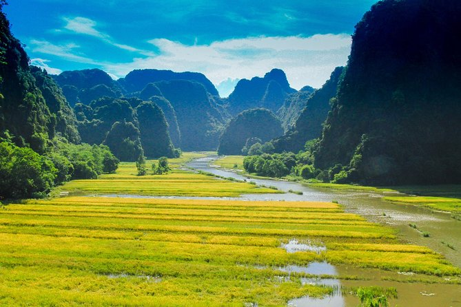 Hoa Lu Tam Coc Full-Day DELUXE Tour Including BUFFET LUNCH & River Boat Ride photo 8
