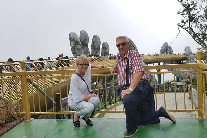 Day Tour to Golden Bridge, Ba Na Mountain via Cable Car from Hoi An or Da Nang photo 2