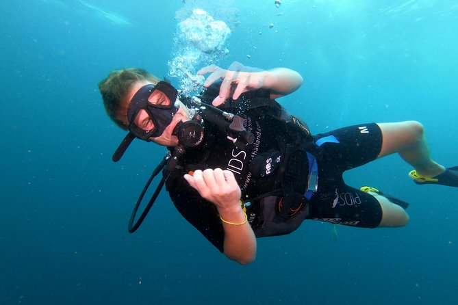 PADI Discover Scuba Diving at Sail Rock From Koh Phangan (Beginners)