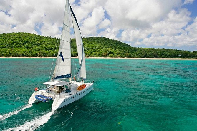 Exclusive Private Catamaran Adventure: Ile aux Cerf (Full Day Cruise incl Lunch)