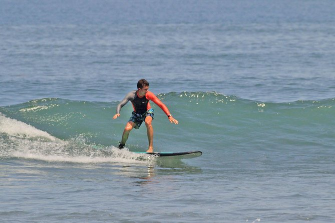 Surf Lesson In Bali With Windy Sun Surf School