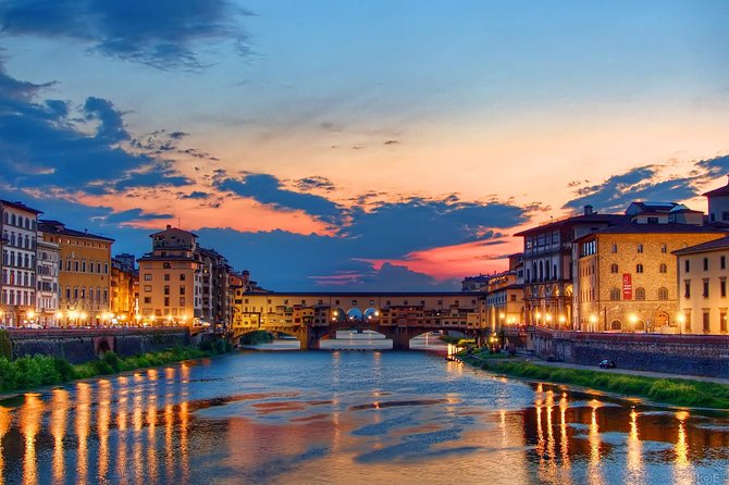 Sunset Stroll in Florence