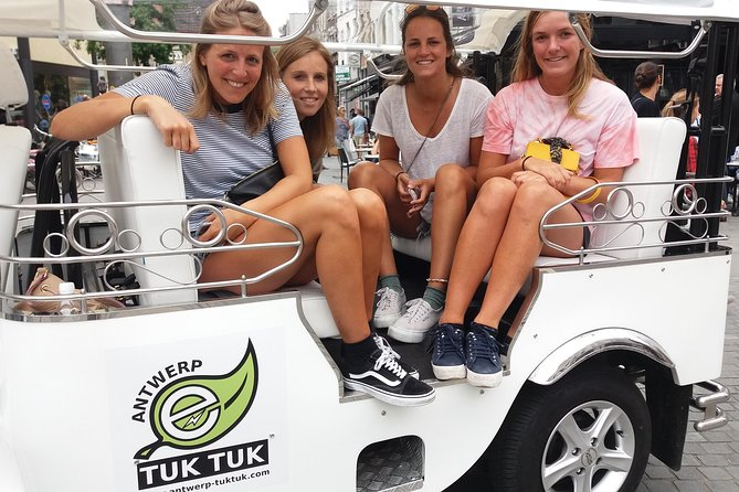 TukTuk Tour through historic Antwerp 2.5h