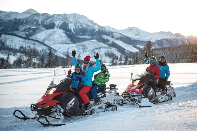 1h SNOWMOBILES in Zakopane Guided Tour, Tatra Mountains
