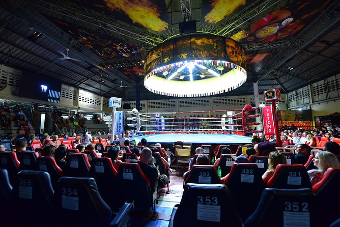 Patong Boxing Stadium Vip.seat With Shuttle