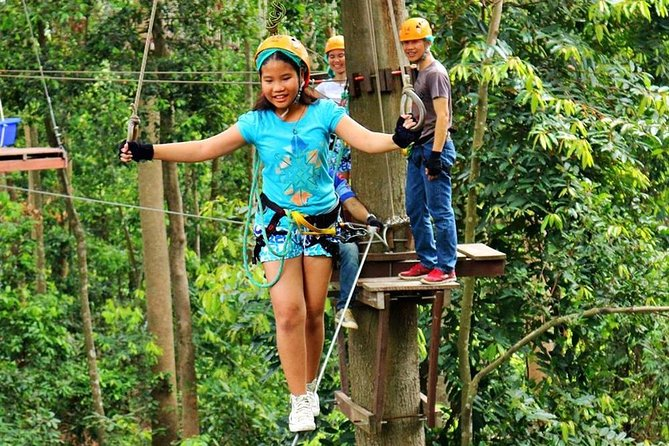 PATTAYA ZIP LINING ADVENTURE (Full Course) (60 Stations)