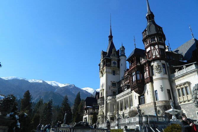 Private Peles & Bran Castles and Brasov City Tour from Bucharest