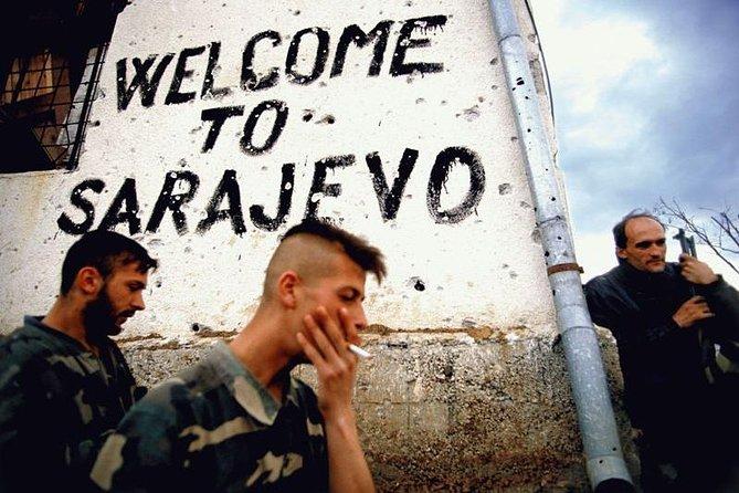 SARAJEVO SIEGE TIMES '92-'95 / Sarajevo Roses & Tunnel of Hope /