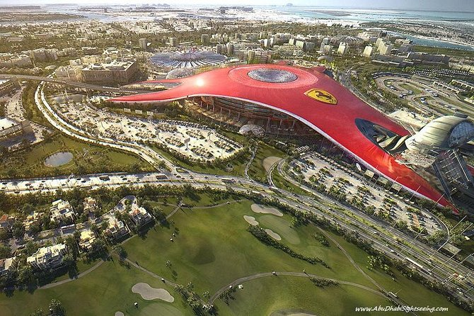 Abu Dhabi Tour with Ferrari Park Admission