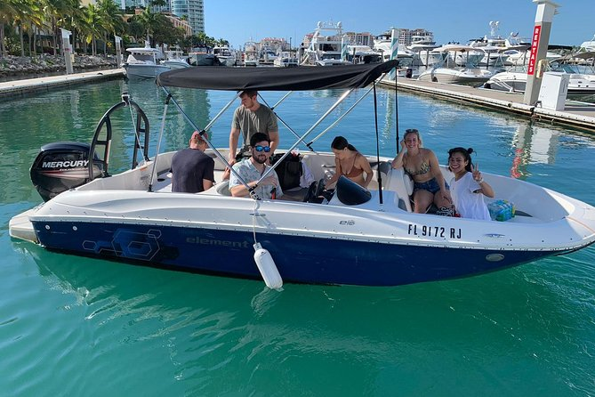 Boat Rental for 6 People without Captain - Price per boat