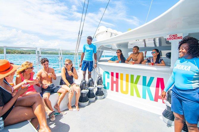 Dunn's River Climb, Zipline and Catamaran Cruise from Ocho Rios