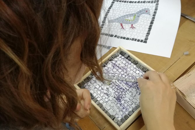 Make your own Athenian Mosaic souvenir to take back home in just 3 hours!